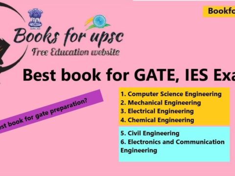 Best book for gate exam CH, CE, EE, ME, ECE